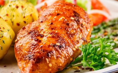 HONEY GINGER & SOY MARINATED CHICKEN BREASTS
