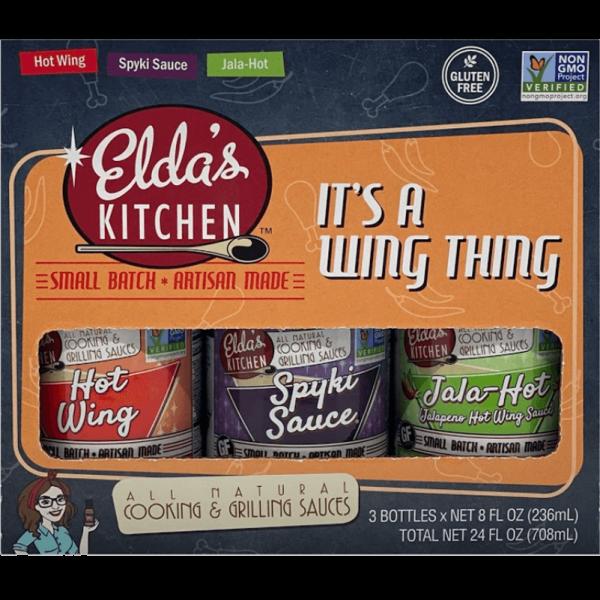 It's a Wing Thing Eldas Kitchen Variety