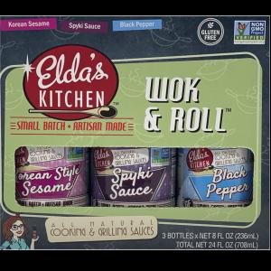 Eldas Kitchen Wok & Roll Variety Pack