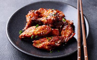 Fried Asian Wings